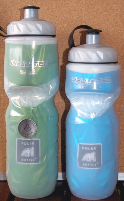 Polar Bottle in the 24 ounce size versus the 20 ounce.