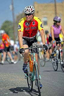 Bad Dog Mark Steinhoff: 2005 Ride for the Roses, Austin, TX