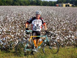 Mile 90 in a cotton field in Tunica, Mississippi