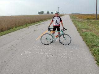 Some of the best miles I have ridden were on this Bianchi Talladega.