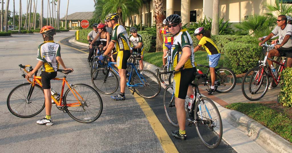 Palm Beach Gardens Ride of Silence start