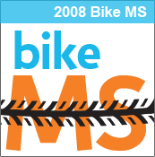 2008 Bike MS 150 - Memphis, TN