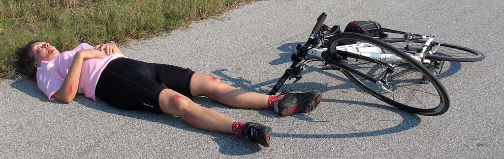 Mary\'s crash on Lake Okeechobee Scenic Trail