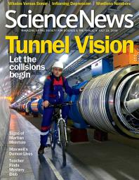 ScienceNews Magazine Cover, July 2008