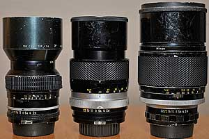 105/2.5, 135/2.8, 180/2.8 -- All Replaced by the 70-200/2.8