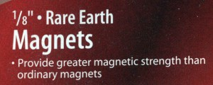 1/8 inch Rare Earth Magnets