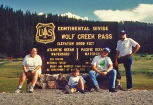 Wolf Creek Pass, Circa 1990