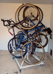 loaded 2 216x300 Cycle Tree for $49.99 Is Great Way to Store Bikes