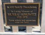 Murray Horowitze memorial at Palm Beach Inlet