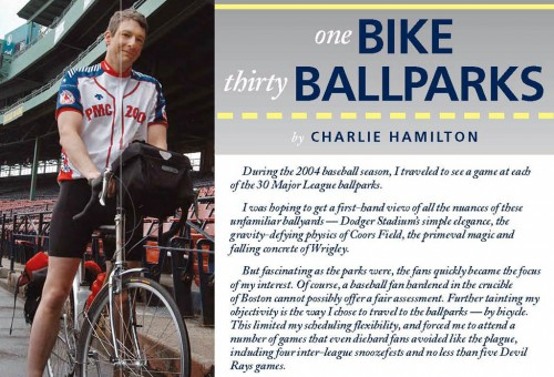 Charlie Hamilton's story in Boston Baseball Magazine