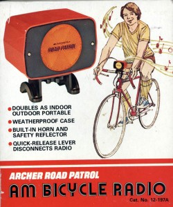 Archer AM Bicycle Radio