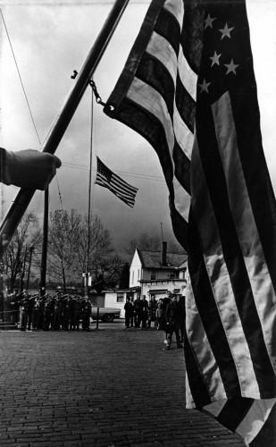 1968 Flag Ceremony in Ohio