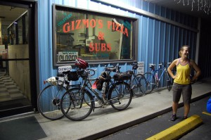 Gizmo's Pizza and Subs near Okeechobee, FL, just off the Lake Okeechobee Scenic Trail