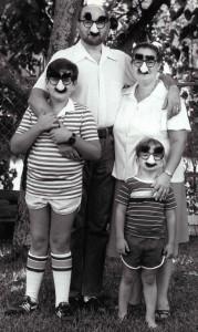 Ken, Matt, Lila, Adam Steinhoff family portrait