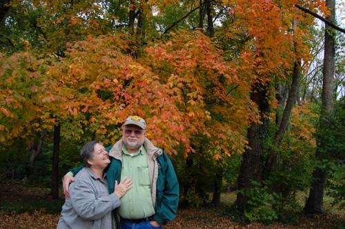 Ken & Lila Steinhoff in Cape Girardeau, MO, Oct. 2008