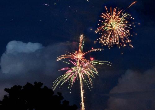 Fireworks in Okeechobee