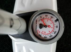 Blackburn Air Tower 2 Pressure gauge