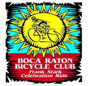 Boca Raton Bike Club Frank Stark Ride logo