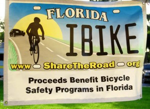 Florida Share the Road Banner