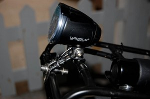 B&M Lumotec IQ Cyo N R Plus headlight on Surly Nice Rack