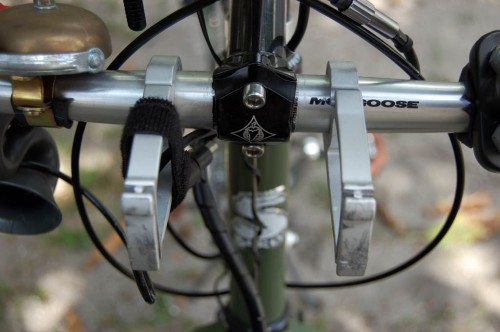Second Stem for Surly Long Haul Trucker and Arkel handlebar bag mounts