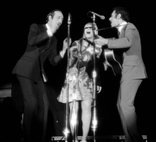 Peter Paul and Mary perform at Ohio University in 1968