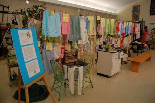 The Aprons of East Perry County exhibit