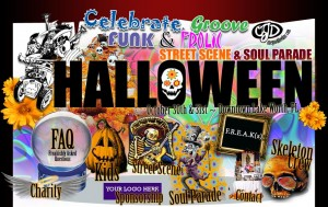 Lake Worth Florida's Halloween Street Scene & Soul Parade