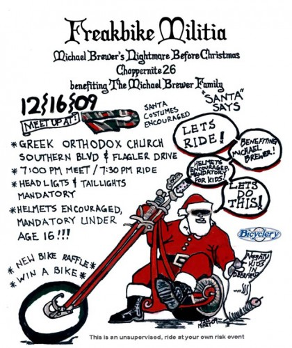 Freakbike Militia Choppernite 26 Flyer