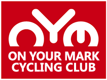 On Your Mark Cycling Club Logo