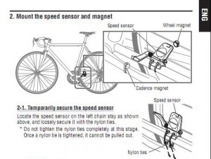 cateye bicycle computer instructions