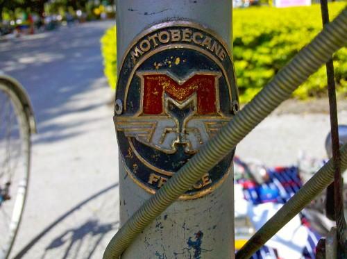 Motobecane France Head Tube Badge
