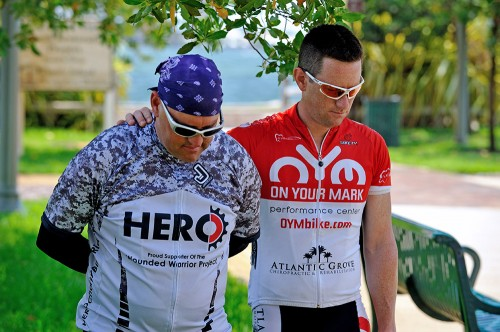 Jeff Masters Matthew Goforth 8094 500x332 HERO Wounded Warrior 1,200 Mile Ride