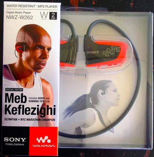 Sony-Walkman-NWZ-W262 Unboxing